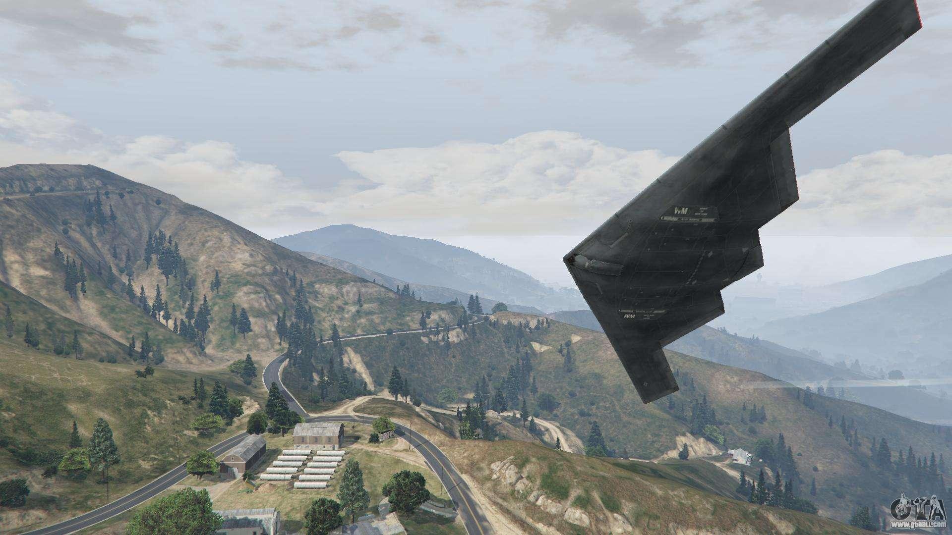 B 2a Spirit Stealth Bomber For Gta 5
