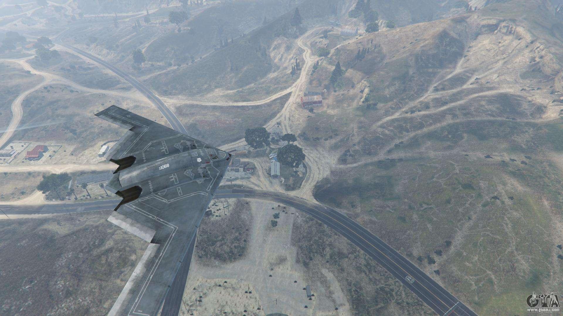 B-2A Spirit Stealth Bomber for GTA 5