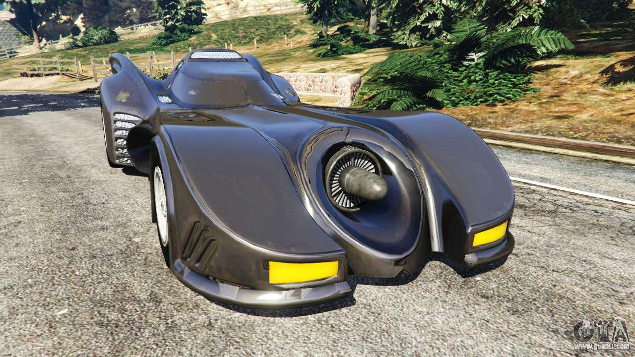Gta New Car Batmobile