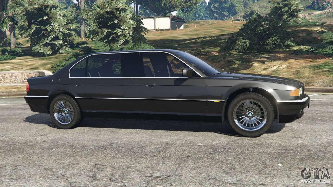 Bmw L7 750il E38 For Gta 5