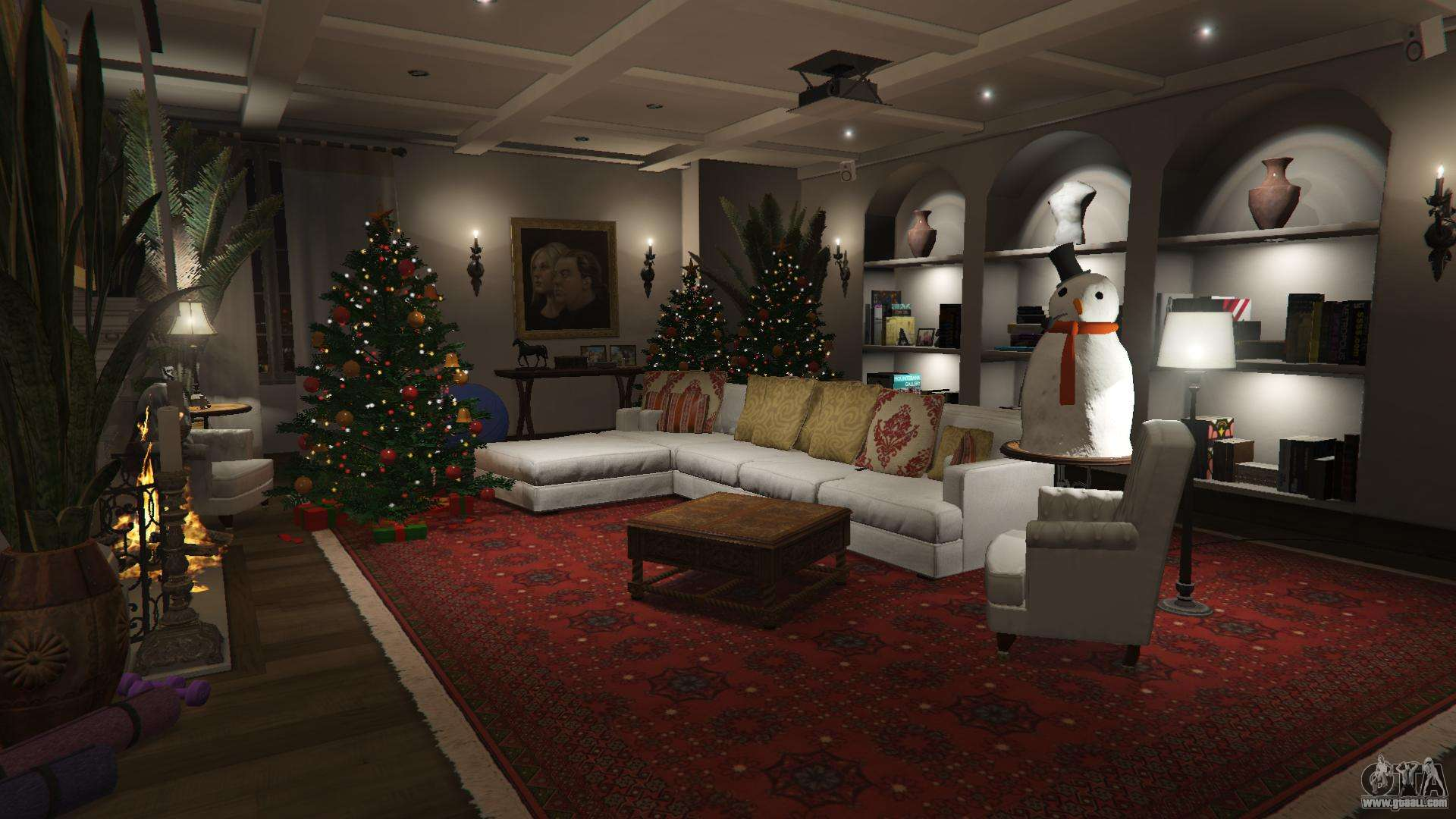 gta 5 christmas decorations for michaels house fifth screenshot - Michaels Christmas Decorations 2015