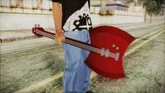 Axe Bass Marceline from Adventure Time for GTA San Andreas