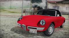Alfa Romeo Spider Duetto 1966 for GTA San Andreas