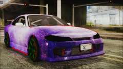Nissan Silvia S15 Galaxy Drift v1.1 for GTA San Andreas