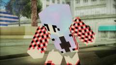 Minecraft Female Skin Edited for GTA San Andreas