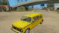 VAZ 2131 7-Door Taxi for GTA San Andreas