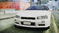 Nissan Skyline GT-R M-Spec Nür 1999 for GTA San Andreas
