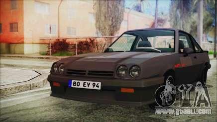 Opel Manta GSi Exclusive for GTA San Andreas