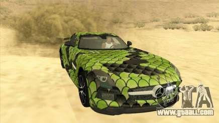 Mercedes-Benz SLS AMG Snake for GTA San Andreas