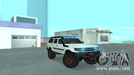 Toyota Autana 4500 off-road LED for GTA San Andreas