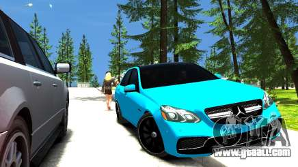 Mercedes-Benz E63 W212 AMG for GTA 4