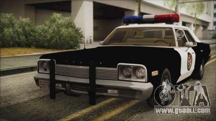 Dodge Monaco 1974 LSPD IVF for GTA San Andreas