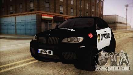 BMW X6 Georgia Police for GTA San Andreas