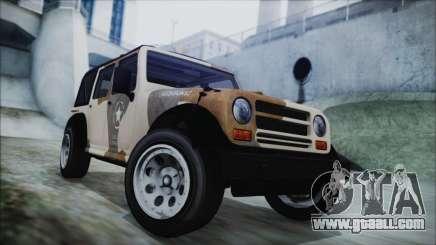 GTA 5 Canis Crusader IVF for GTA San Andreas