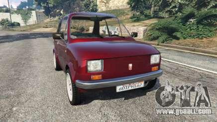 Fiat 126p v1.2 for GTA 5