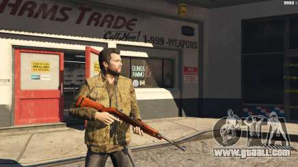 .30 Cal M1 Carbine Rifle for GTA 5