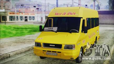Iveco Turbo Daily Flota Valle De Tenza for GTA San Andreas