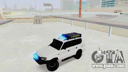Toyota Land Cruiser Prado off-road LED for GTA San Andreas
