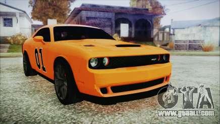 Dodge Challenger SRT 2015 Hellcat General Lee for GTA San Andreas