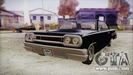GTA 5 Declasse Clean Voodoo Hydra Version IVF for GTA San Andreas
