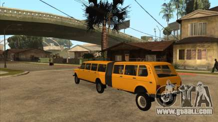 The trailer to the VAZ 2131 Hyper for GTA San Andreas