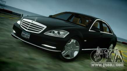 Mercedes-Benz S600 2011 for GTA 4