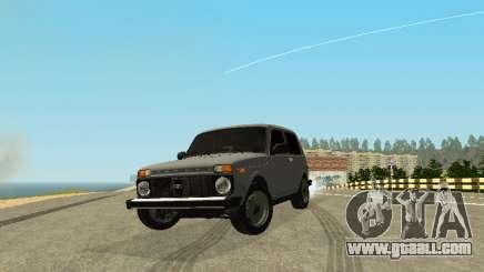 VAZ 2123 Niva auto Sound for GTA San Andreas