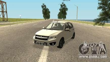 Lada Kalina 2 - Granta for GTA San Andreas