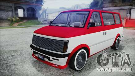 GTA 5 Declasse Moonbeam Bobble Version IVF for GTA San Andreas
