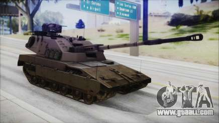 M4 Scorcher Self Propelled Artillery for GTA San Andreas
