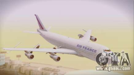 Boeing 747-128B Air France for GTA San Andreas
