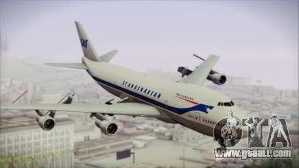 Boeing 747-283BM Scandinavian Airlines for GTA San Andreas