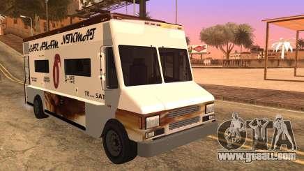 Sate Ayam (Chicken Satay) Van for GTA San Andreas