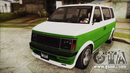 GTA 5 Declasse Moonbeam for GTA San Andreas