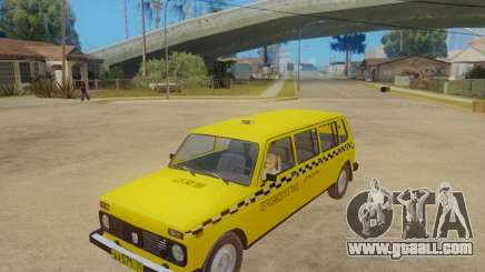 VAZ 2131 7-Door Taxi for GTA San Andreas