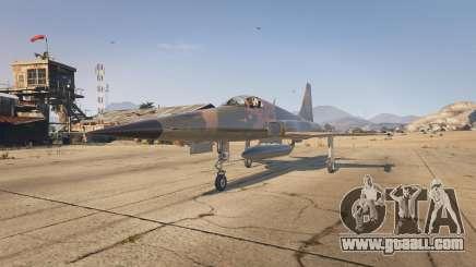 Northrop F-5E Tiger II USA for GTA 5