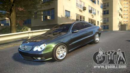 Mercedes CLK55 AMG Coupe 2003 for GTA 4