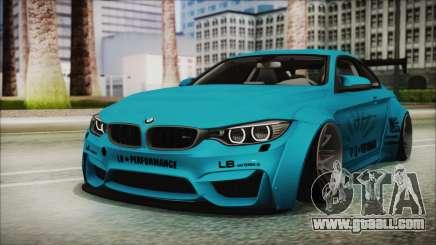 BMW M4 2014 Liberty Walk for GTA San Andreas