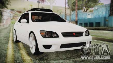 Toyota Altezza 2004 Full Tunable HQ for GTA San Andreas