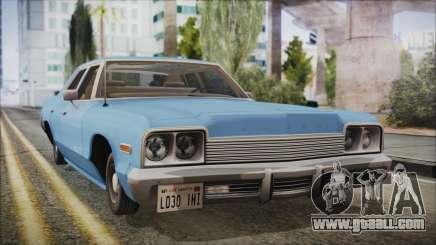 Dodge Monaco 1974 Civilian for GTA San Andreas