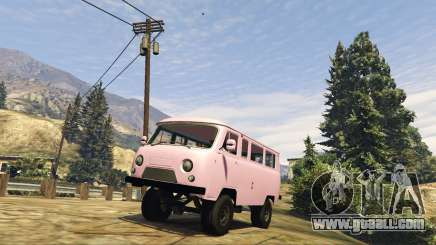 UAZ 3962 BETA 1.0 for GTA 5