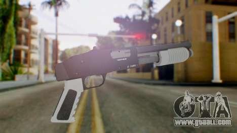 GTA 5 Sawed-Off Shotgun - Misterix 4 Weapons for GTA San Andreas second screenshot
