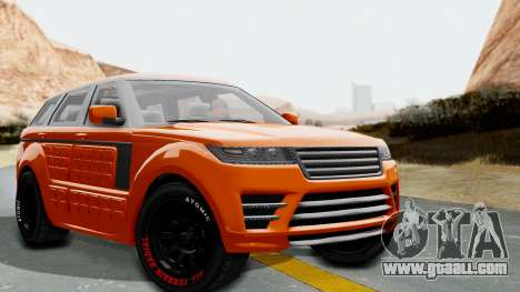 GTA 5 Gallivanter Baller LE Arm IVF for GTA San Andreas