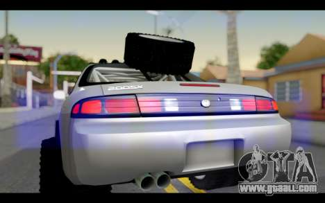 Nissan Silvia S14 Rusty Rebel for GTA San Andreas right view