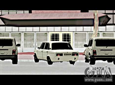 VAZ 2106 [ARM] for GTA San Andreas left view