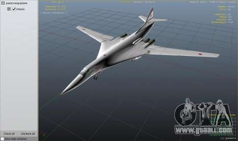 GTA 5 Tu-160 White Swan eighth screenshot