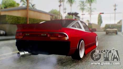 Nissan 240SX Drift v2 for GTA San Andreas left view