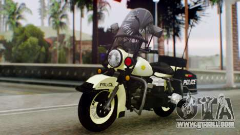 New Police Bike for GTA San Andreas