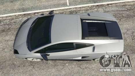 Lamborghini Gallardo LP570-4 Superleggera 2011 for GTA 5
