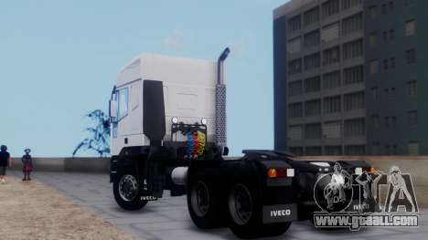Iveco EuroTech v2.0 for GTA San Andreas left view